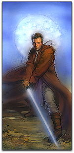 Obi-Wan Kenobi Knights of the Old Republic Miniature art painting
