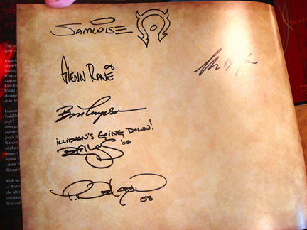 The Signature Page