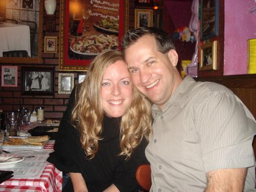 Sweethearts Ben and Helen Thompson